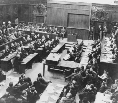 Auftakt: Nürnberger Prozess