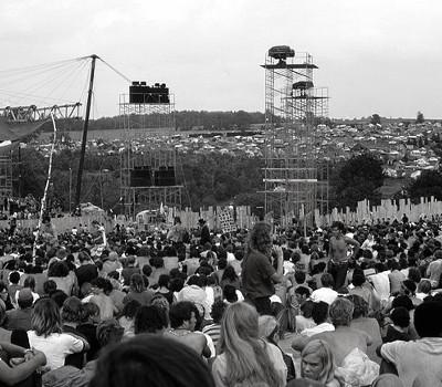 Auftakt: Woodstock-Festival