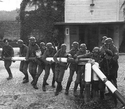 Ausbruch: Zweiter Weltkrieg