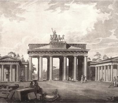 Einweihung: Brandenburger Tor