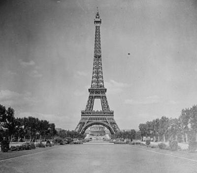 Einweihung: Eiffelturm