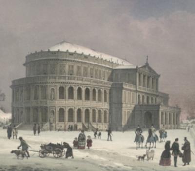 Eröffnung: Königliches Hoftheater (Semperoper)