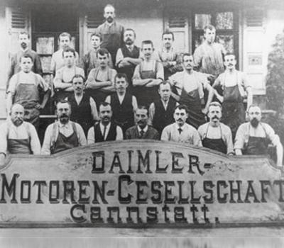 Gründung: Daimler-Motoren-Gesellschaft