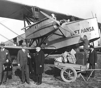 Gründung: Deutsche Luft Hansa