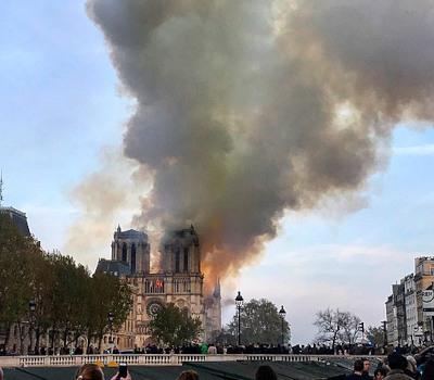 Großbrand: Notre Dame de Paris