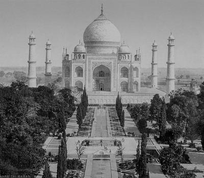 Grundsteinlegung: Taj Mahal