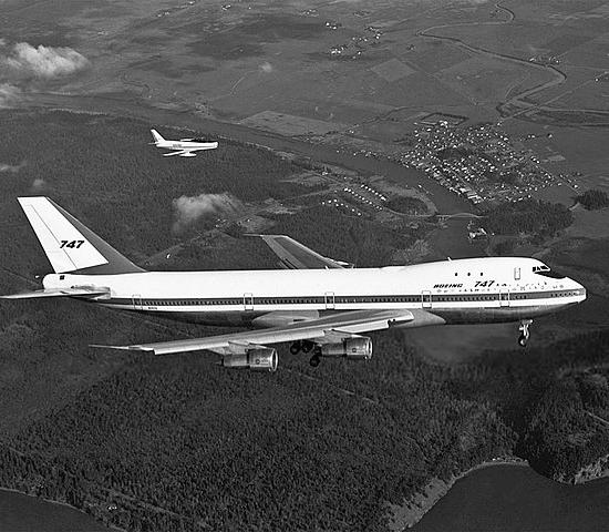 Jungfernflug: Boeing 747 Jumbo Jet