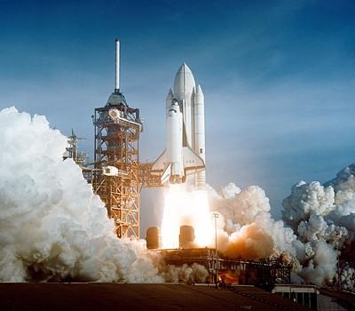 Jungfernflug: Columbia (STS-1)
