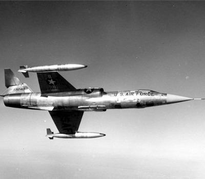 Jungfernflug: Lockheed F-104 Starfighter