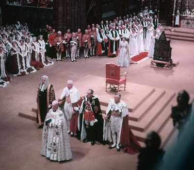 Krönung: Elizabeth II.