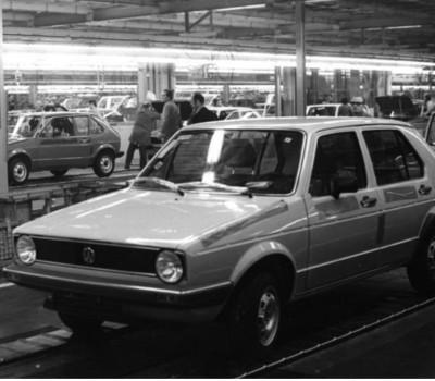 Produktionsstart: VW Golf