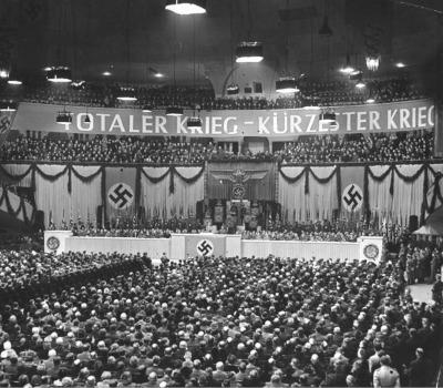 Sportpalast-Rede: Joseph Goebbels (Totaler Krieg)