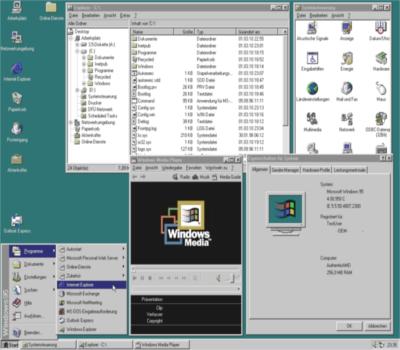 Verkaufsstart: Microsoft Windows 95