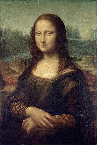 Vollendung: Mona Lisa (Leonardo da Vinci).